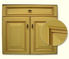 Selecting Kitchen Cabinets Florence Door Style Painted Antique White Kitchen Cabinets