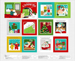the christmas wish book a christmas wish fabric book panel to sew quiltgirls