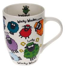 Design Mugs by Tulip Ceramic Mug With Wacky Woollies Design