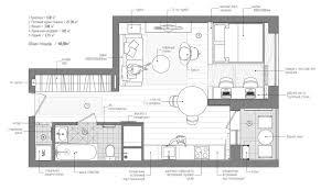 bed one bedroom flat floor plan