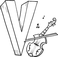 v tight style letters free coloring book pages find print and at
