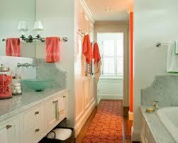 coastal themed bathroom coastal coral themed bathroom houzz