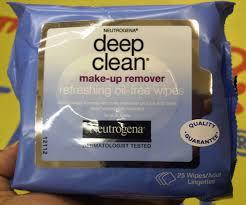 neutrogena deep clean makeup remover wipes u2013 review