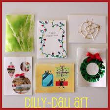 make christmas cards day 2 creative christmas countdown