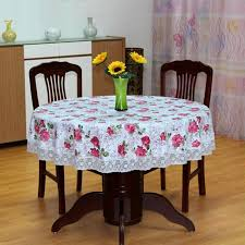 plastic table covers for weddings new pastoral style pvc round table cloth waterproof oilproof flower