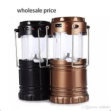 bright light solar portable outdoor led cing lantern solar collapsible light