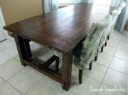 Rustic Farmhouse Dining Tables Building A Farm Table U2013 Medicaldigest Co