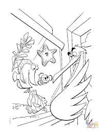 nemo coloring page marlin dory and nemo coloring pages hellokids