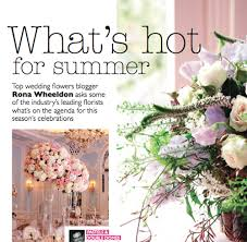 wedding flowers and accessories magazine wedding flowers wedding flower magazines