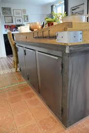 billot cuisine billot central de cuisine table ancienne avec tiroir central