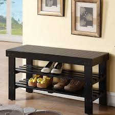 shoe storage bench entryway hallway shelf unit rack stand seat