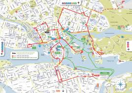 Stockholm Metro Map by Hop On Hop Off Bus And Boat Tours Free With The Stockholm Pass