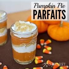 pumpkin pie parfaits recipe a dessert idea for fall