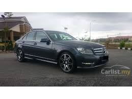mercedes c220 cdi amg sport mercedes c class 2013 in selangor automatic grey for rm