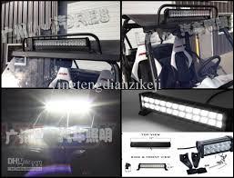 automotive led light bars 24 inch offroad trucks 120w led light bar atv suv cars flood beam