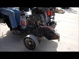 ez rider core cut cc7878 concrete saw for sale sold at auction