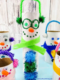 adorable diy toilet paper roll snowman crafts natural beach living