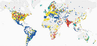 Las Vegas Map 2015 by Map How English Soccer Teams Rule The World The Washington Post