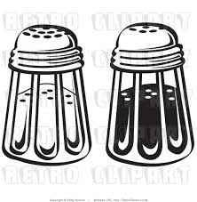 martini shaker clipart royalty free vector retro illustration of black and white salt and