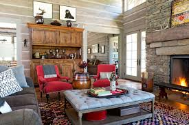 Log Home Decorating Tips Wyoming Log Cabin Cozy Log Cabin Decorating Ideas