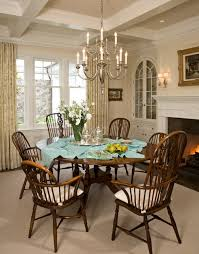colonial dining room santa barbara dutch colonial beach style dining room los