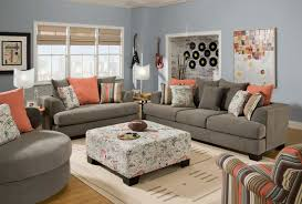 Leather Pillows For Sofa by Living Room Leather Grey Sofa And Loveseat For Minimlist Living