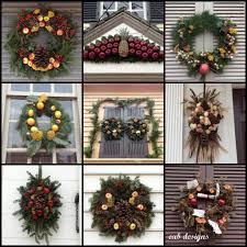 eab designs colonial williamsburg wreaths