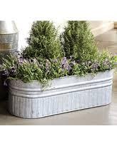 boom holiday sales on galvanized metal planters