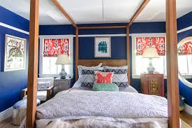 red and blue bedroom 20 bold bedrooms in blue red and white colors home design lover