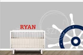 nautical themed baby room