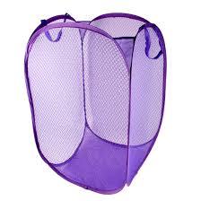 laundry hamper collapsible house compact pop up mesh foldable laundry basket bag bin hamper