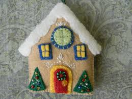 gingerbread house personalized christmas ornament gingerbread