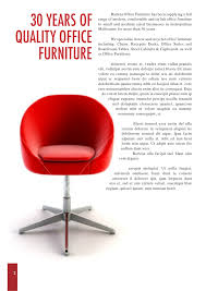 Office Furniture Brochure by Sample Catalogue For Office Furniture