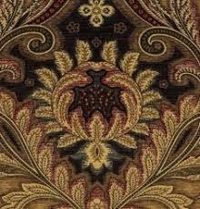 Black And Gold Curtain Fabric Velvet Upholstery Fabric Golden Burnout Velvet
