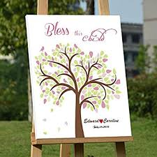 baby shower tree personalized baby shower guest book tree 16x20 sign in