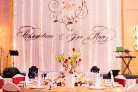 wedding backdrop design malaysia a sweet indian fusion wedding vows co