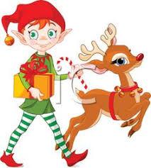 christmas elves christmas illustration of christmas