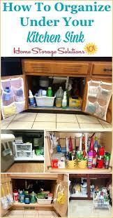under bathroom sink organization ideas kitchen sink cabinet organizer idea under bathroom sink organizer
