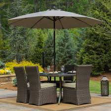 Patio Umbrella Table And Chairs by Umbrellas Costco