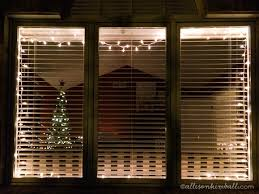 hanging christmas lights around windows at a glance week 51 a simple inspiration