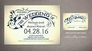 Wedding Invitation Design Wonderful Modern Wedding Invites Theruntime Com
