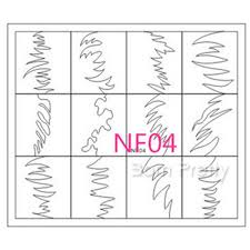 1 29 1 sheet zigzag french manicure edge tip guides nail art toes