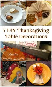 7 diy thanksgiving table decorations