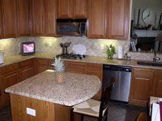 new traventine back splash giallo ornamental granite complement