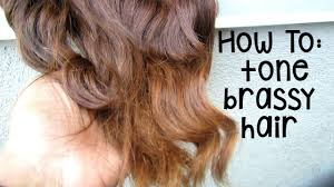 over the counter purple hair toner how to tone brassy orange hair with drugstore dye youtube