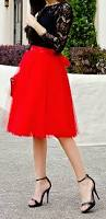 how to wear a tulle skirt and how to dress for a holiday party
