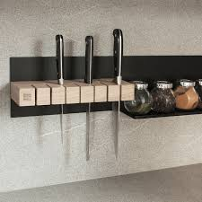 knife magnetic rack stunning kitchen knife storage solution home