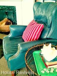 Ethan Allen Leather Chairs House Revivals How To Dye A Leather Sofa Or Chair