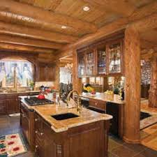 Log Cabin Kitchen Ideas 30 Best Log Cabin Ideas Images On Pinterest Architecture Log