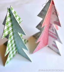 paper tree ornaments and decorations